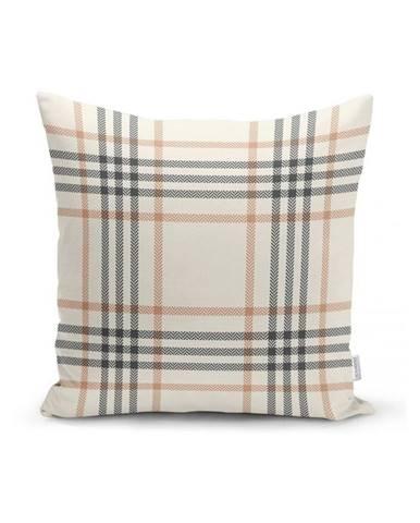 Šedo-béžový dekorativní povlak na polštář Minimalist Cushion Covers Burberry,35x55cm