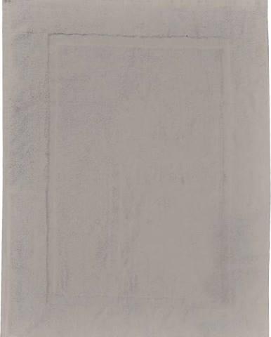 Šedobéžová bavlněná koupelnová předložka Wenko, 50x70cm