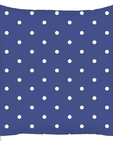 Modrý povlak na polštář Mike&Co.NEWYORK Little Dots, 43 x 43 cm