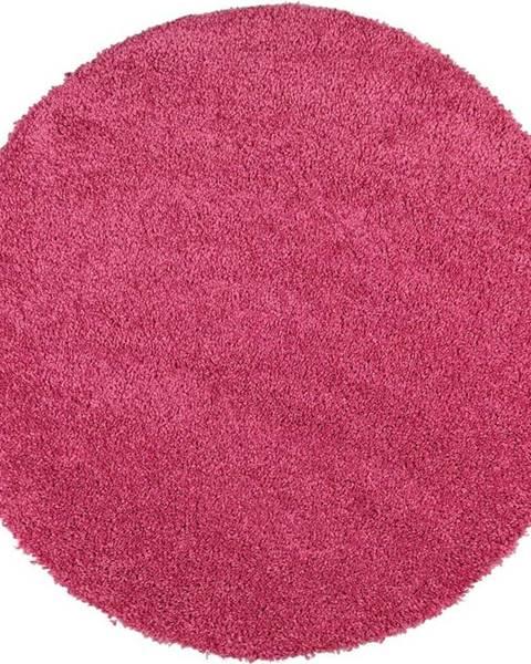Universal Růžový koberec Universal Aqua Liso, ø80cm