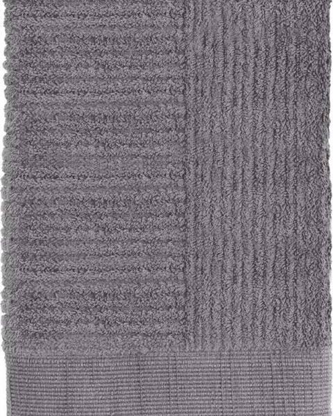 Zone Šedý ručník Zone One,50x70cm
