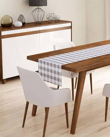 Běhoun na stůl Minimalist Cushion Covers Gray Flannel,45x140cm
