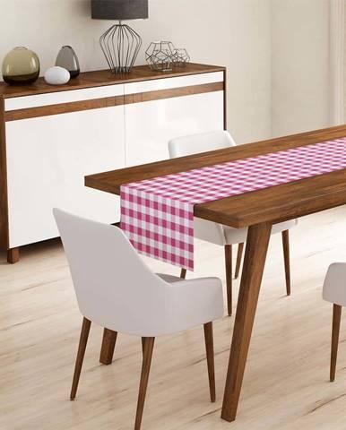 Běhoun na stůl Minimalist Cushion Covers Pink Flannel,45x140cm