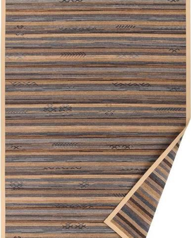 Béžový vzorovaný oboustranný koberec Narma Liiva, 70 x 140cm