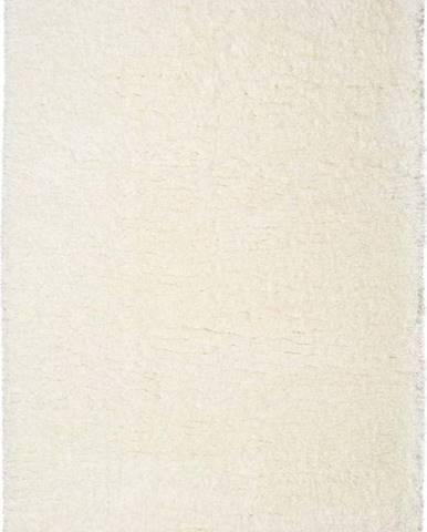 Bílý koberec Universal Floki Liso, 60x120cm
