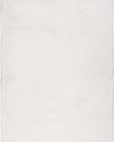 Bílý koberec Universal Fox Liso, 120 x 180 cm