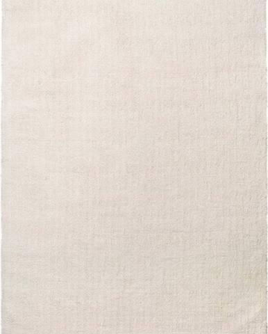 Bílý koberec Universal Shanghai Liso, 60 x 110 cm