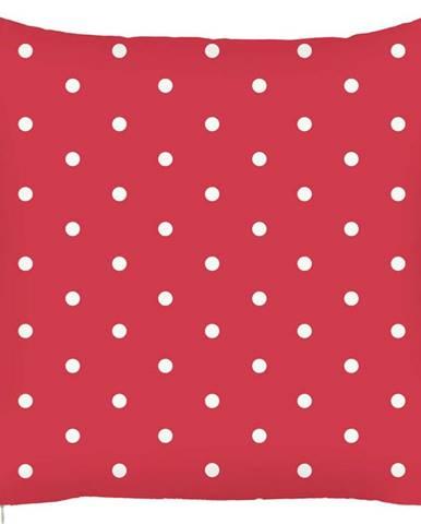 Červený povlak na polštář Mike&Co.NEWYORK Dots, 43 x 43 cm