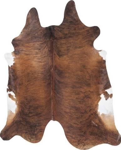 Hnědý koberec z hovězí kůže Kare Design Hide,190x150cm