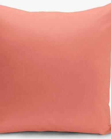 Oranžový povlak na polštář Minimalist Cushion Covers, 45 x 45 cm