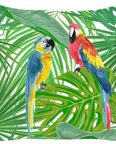 Povlak na polštář Mike&Co.NEWYORK Jungle Parrot, 43 x 43 cm