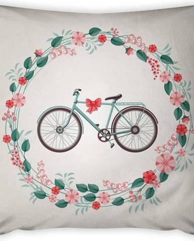 Povlak na polštář Vitaus Rustic Vintage Bike, 43 x 43 cm