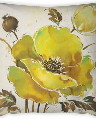 Povlak na polštář Vitaus Sermento Lime Tres, 43 x 43 cm