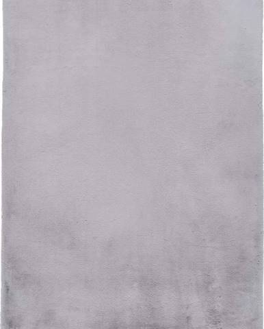 Šedý koberec Universal Fox Liso, 80 x 150 cm