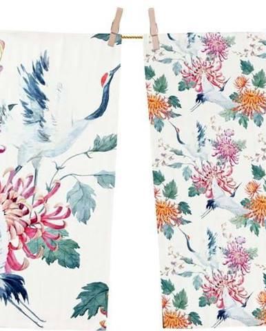 Set 2 kusů utěrek z bavlny Butter Kings Asian Barker, 70 x 50 cm