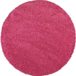 Růžový koberec Universal Aqua Liso, ø80cm