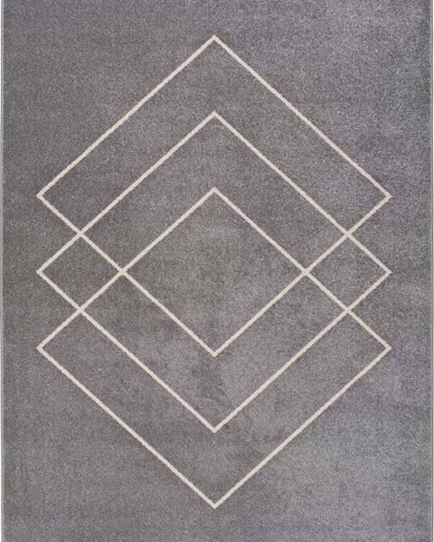 Universal Šedý koberec Universal Breda, 115 x 160 cm