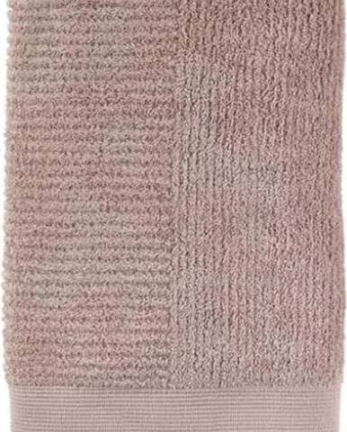Béžová bavlněná osuška Zone Classic Nude, 70 x 140 cm