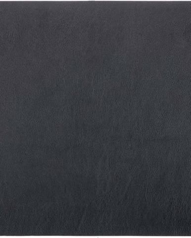 Černé prostírání z imitace kůže ZicZac Togo,33x45cm