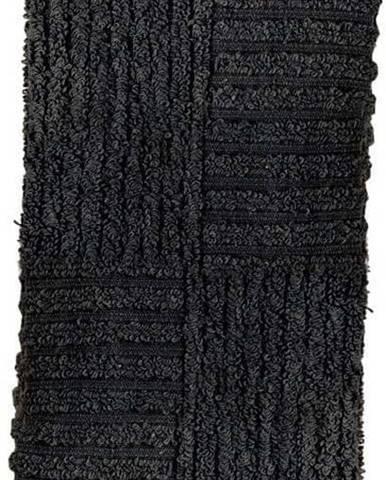 Černý ručník Zone Classic,30x30cm