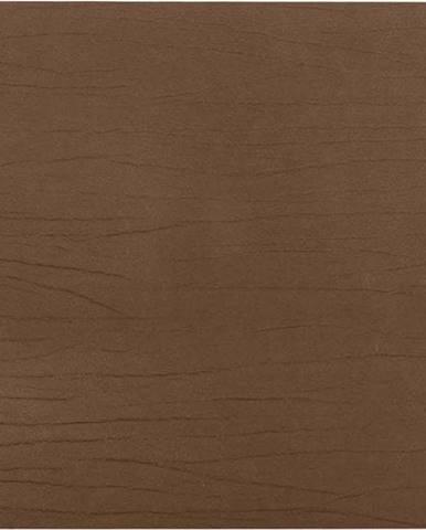 Hnědé prostírání z recyklované kůže ZicZac Titane, 33x45cm