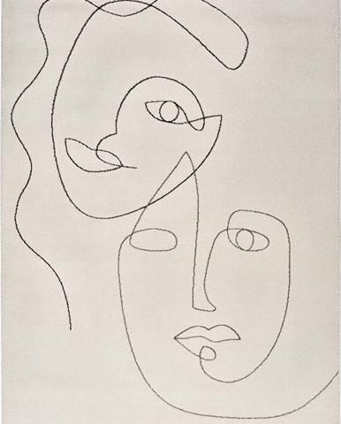 Koberec Universal Sherry Faces, 60 x 110 cm