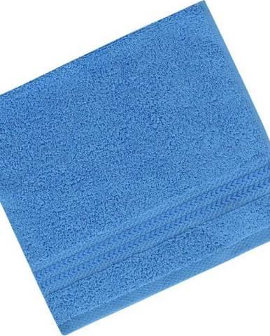Modrý ručník z čisté bavlny Sky, 30 x 50 cm