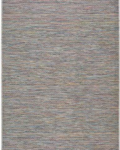 Šedobéžový venkovní koberec Universal Bliss, 55 x 110 cm