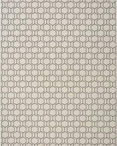 Šedobéžový venkovní koberec Universal Clhoe, 120 x 170 cm