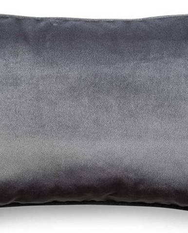Šedý povlak na polštář WeLoveBeds Dark, 40 x 60 cm