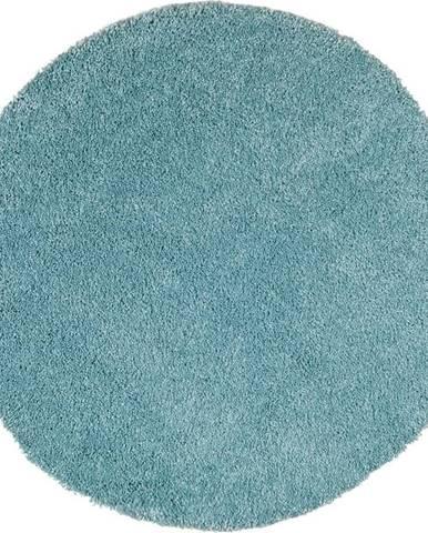 Světle modrý koberec Universal Aqua Liso, ø80cm