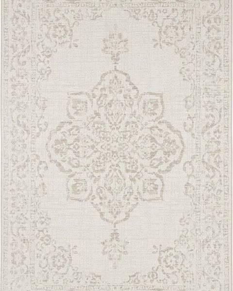 Bougari Béžový venkovní koberec Bougari Tilos, 80 x 150 cm