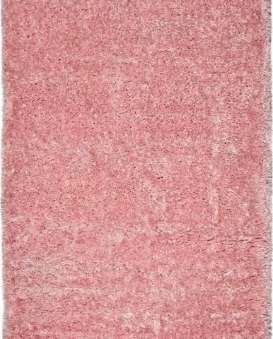 Růžový koberec Universal Aloe Liso, 60x120cm