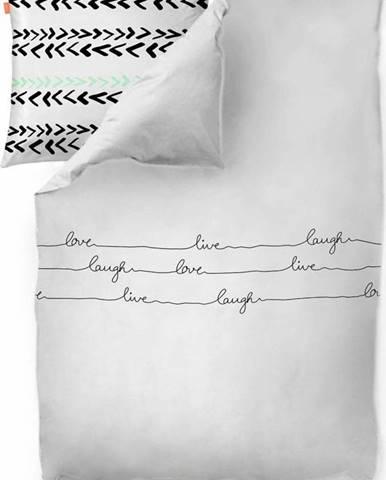 Bavlněný povlak na peřinu Blanc Live, 200x200cm