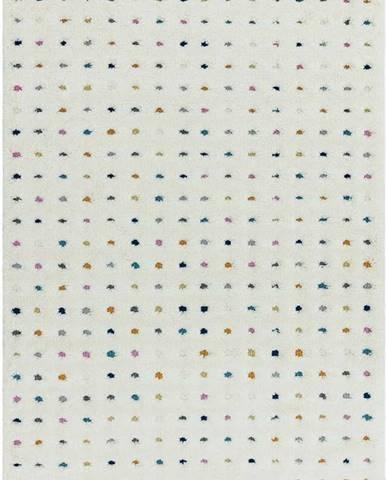 Béžový koberec Asiatic Carpets Dotty Multi, 120 x 170 cm