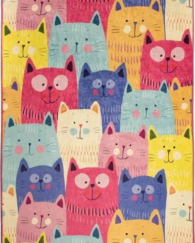 Dětský koberec Cats, 100x160cm