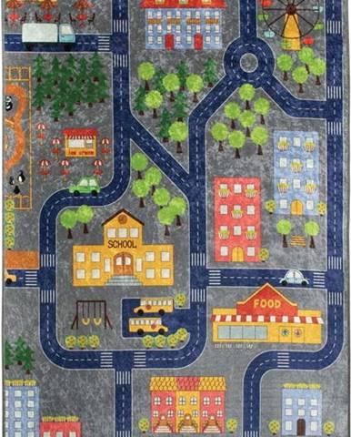 Dětský koberec Small Town, 100x160cm