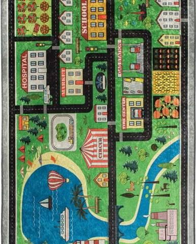 Dětský koberec Traffic, 100x160cm