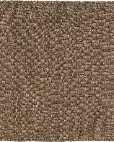 Hnědý koberec z mořských řas Geese Rustico Natura, 120 x 180 cm