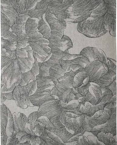 Šedá kuchyňská utěrka z bavlny Södahl Rose, 50x70cm