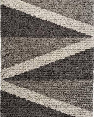 Šedý koberec Universal Focus Hotto, 80 x 150 cm