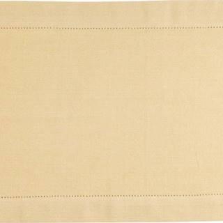Žluté bavlněné prostírání Ego Dekor Indi, 35x50cm