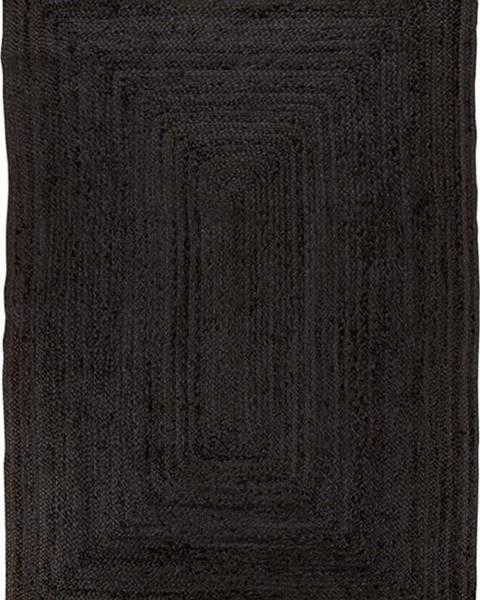 House Nordic Černý koberec House Nordic Bombay Rug, 135 x 65 cm