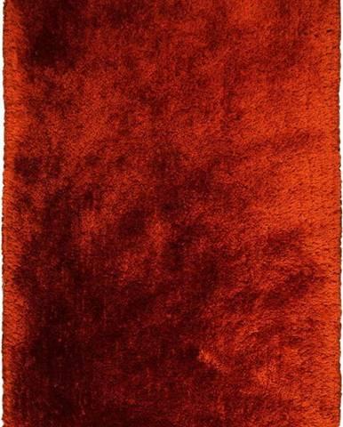 Červený koberec Flair Rugs Pearl Rust, 80 x 150 cm