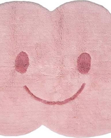 Dětský růžový koberec Nattiot Nimbus, 75x115cm