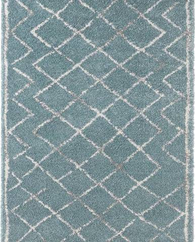 Modrý koberec Mint Rugs Loft, 80x150cm
