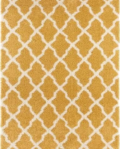 Oranžový koberec Mint Rugs Pearl, 80x150cm