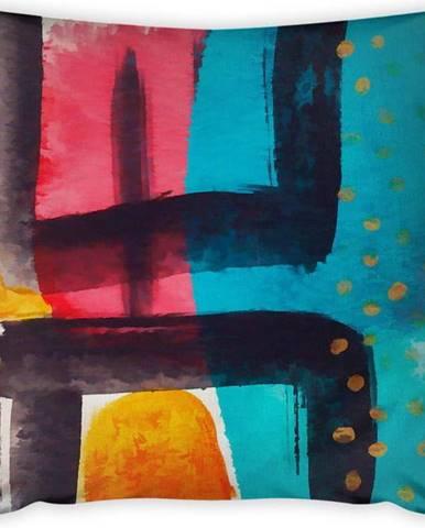 Povlak na polštář Vitaus Vinalo Pop Art, 43 x 43 cm