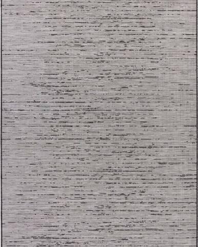 Šedý koberec vhodný do exteriéru Elle Decoration Curious Laval, 115 x 170 cm
