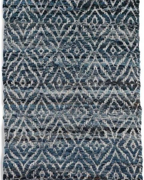 Geese Modrý koberec Geese Valencia, 60x 120 cm